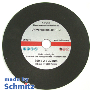 Abrasive Cut-off Wheels Ø300x2,0x32 mm for cutting materials up to 40 HRC
