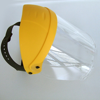 Face Shield with Chin Guard