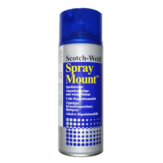 Spray Mount 400 ml, for non-adhesive grinding paper