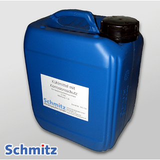 Fully synthetic cooling liquid with corrosion-inhibiting additives (mineral oil-free) with defoamer, 10 litres